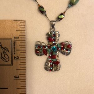 Y Sol Jewelry - Cross necklace